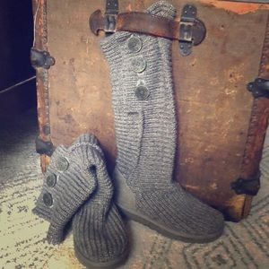 Ugg knitted boots